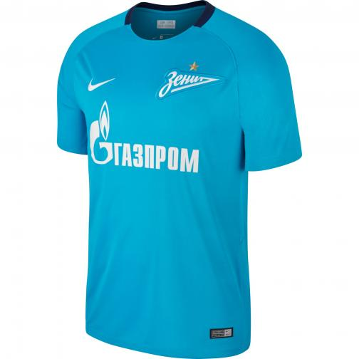 Nike Maglia Gara Home Zenit San Pietroburgo   17/18 Blu/Bianco