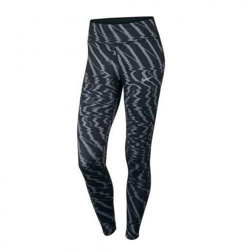 Nike Pantalone Power Essential Tight  Donna Verde/Blu