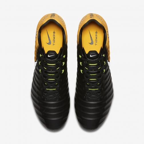Nike Scarpe Calcio Tiempo Legacy Iii Fg Nero/Bianco/Arancione/Volt Tifoshop