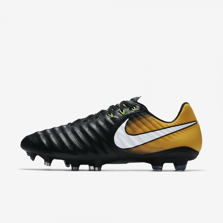 Nike Football Shoes Tiempo Legacy Iii Fg Black white-laser Orange-volt -  Tifoshop.com 3dac1b0746
