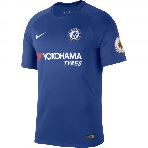 Nike Maglia Gara Home Chelsea   17/18 BLU