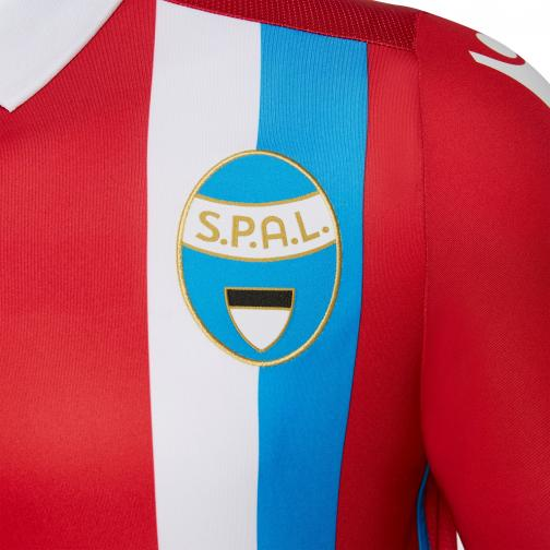 Macron Maglia Gara Away Spal   17/18 ROSSO/BIANCO/AZZURRO Tifoshop