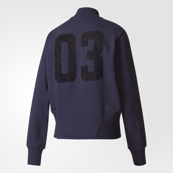 Adidas Originals Giacca Collegiate Track Top  Donna Blu navy Tifoshop