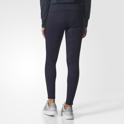 Adidas Originals Pantalone 3 Stripes Leggings  Donna