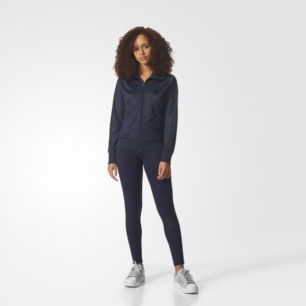 Adidas Originals Pantalone 3 Stripes Leggings  Donna Viola/nero Tifoshop