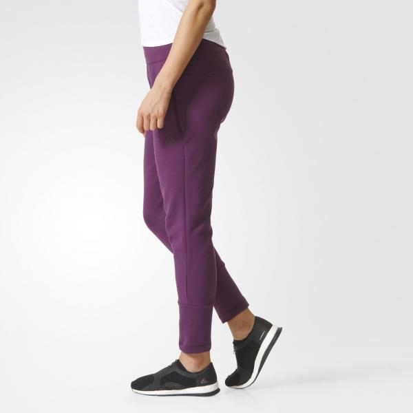 Adidas Pantalone Zne Slim Pant  Donna Rosso Tifoshop