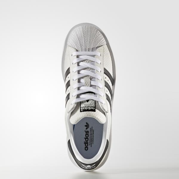 Adidas Originals Scarpe Superstar Bold Women  Donna Bianco/Nero Tifoshop