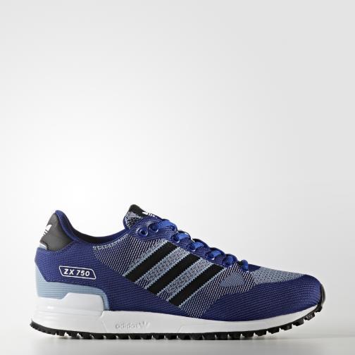 Adidas Originals Scarpe Zx 750 Wv Blu/Nero/Bianco