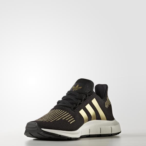 scarpe adidas donna nero oro