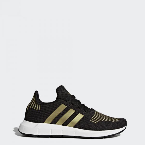Adidas Originals Scarpe Swift Run Women  Donna Nero/oro