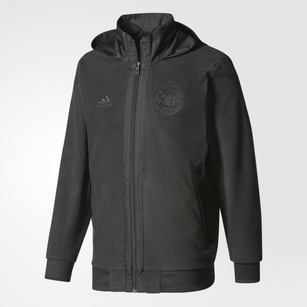 Adidas Felpa  Manchester United Nero