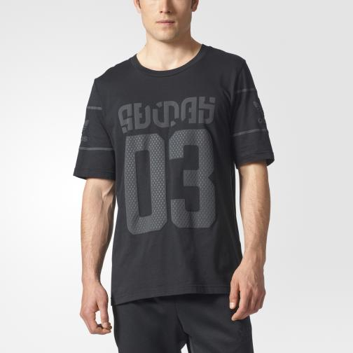 Adidas Originals T-shirt Winter D-tee Nero/Grigio