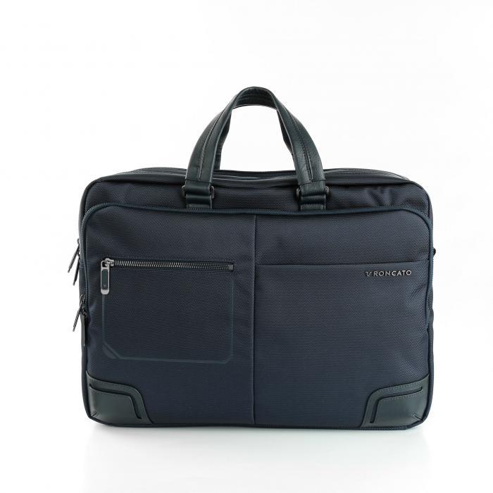 Laptop Briefcase  DARK BLUE Roncato