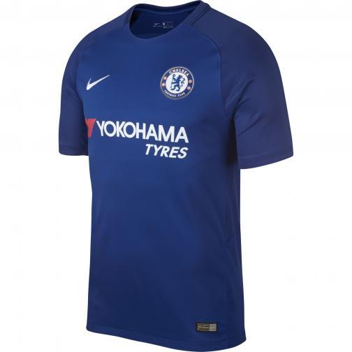 Nike Maglia Gara Home Chelsea   17/18 BLU_