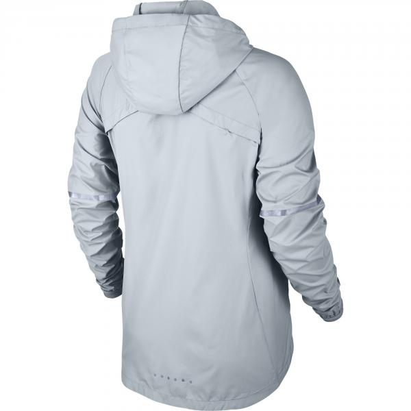 Nike Giacca Shield Hooded Running Jacket  Donna Argento Tifoshop