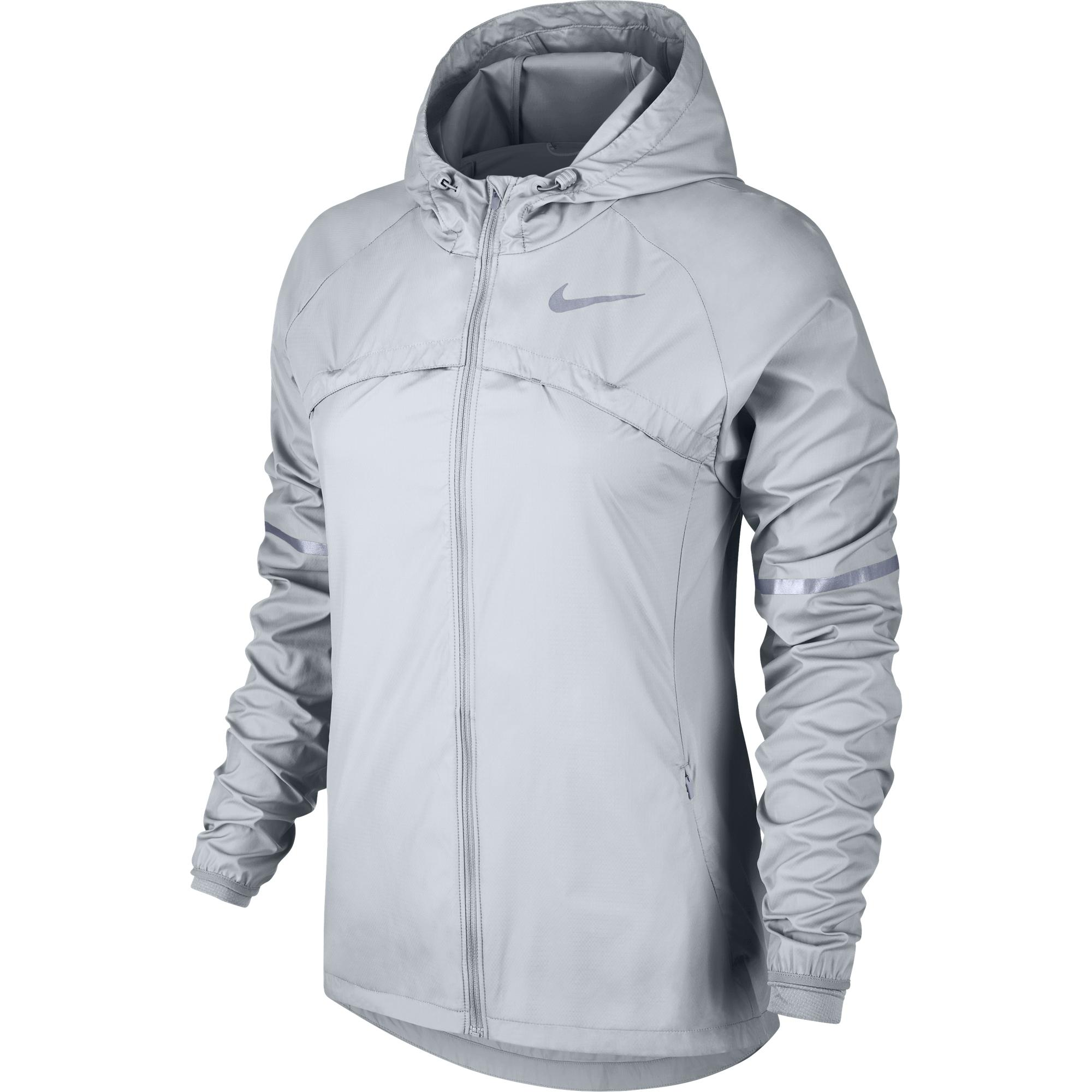 Shield Giacca Argento Jacket Hooded Donna Running Nike 1ZgAqRwR