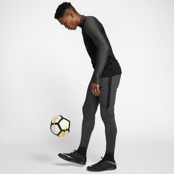 Nike Maglia Aeroswift Strike Football Drill Top Nero/Bianco Tifoshop