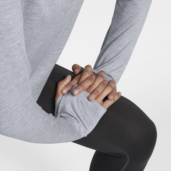 Nike Maglia Dry Top  Donna Grigio Tifoshop