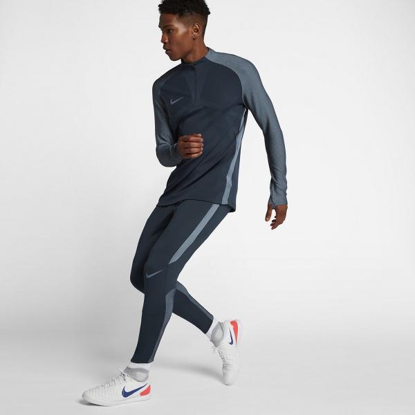 Nike Pantalone Dry Strike Blu Tifoshop