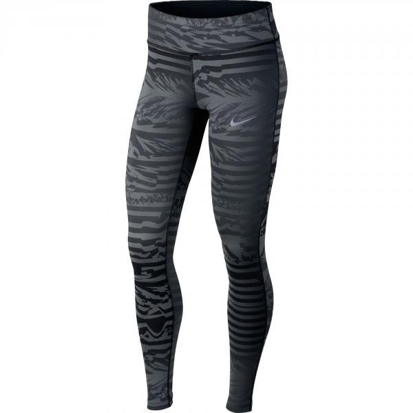 Nike Pantalone Nike Power Essential Running Tights  Donna Grigio/Nero