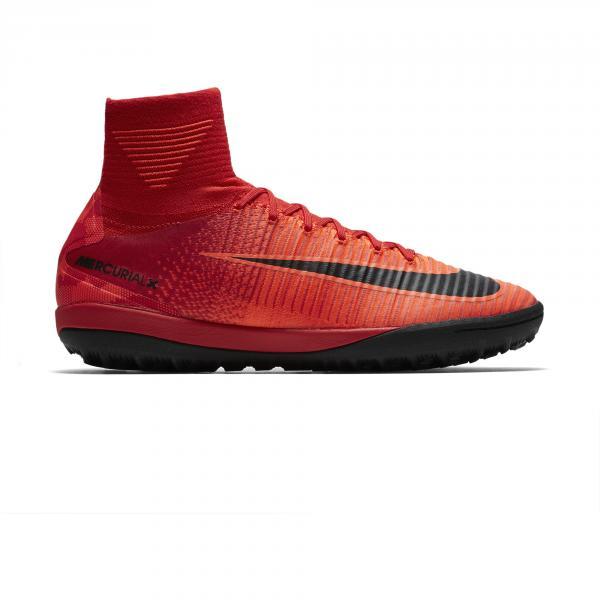 Nike Scarpe Calcetto Mercurialx Proximo Ii Tf Rosso/Nero/ Mango