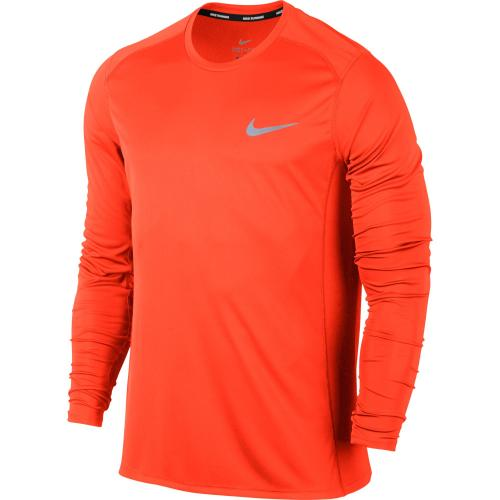 Nike Maillot MILER LONG SLEEVE