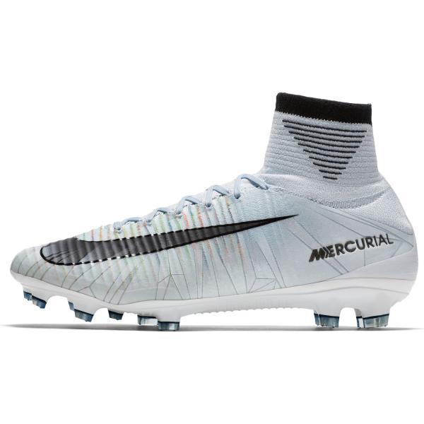 Nike Scarpe Calcio Mercurial Superfly V Cr7 Fg   Cristiano Ronaldo Blu/Nero/Bianco/Volt