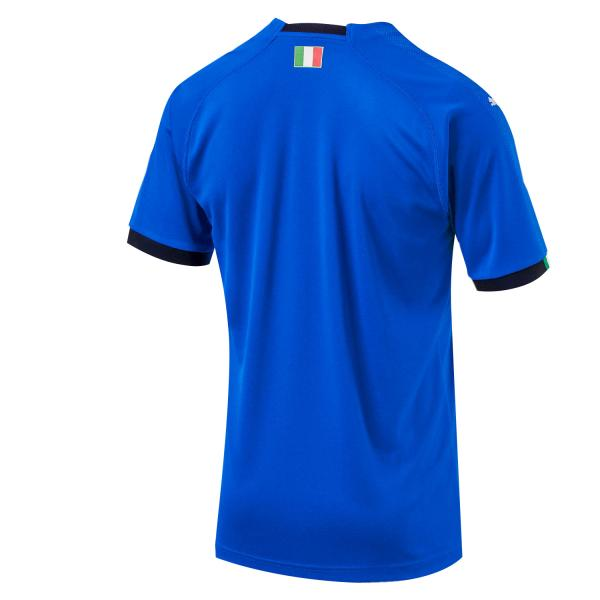 Figc Italia Kids Home Shirt Replica Ss team power blue-white FIGC Store