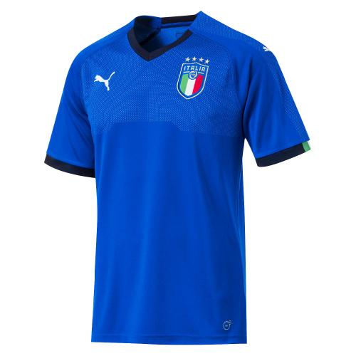 FIGC Italia Kids Home Shirt Replica SS