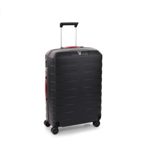 MEDIUM LUGGAGE  BLACK/PINK