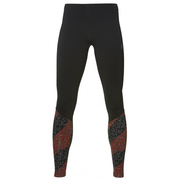 Asics Pantalone Race Tight NERO/ROSSO