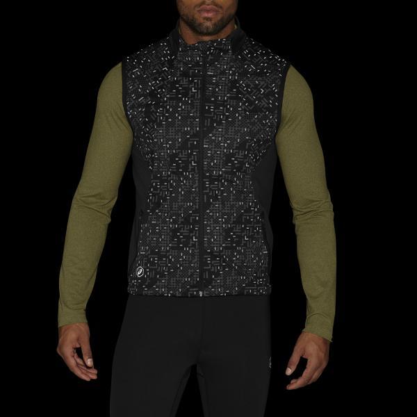 Asics Giacca Lite-show Vest NERO Tifoshop