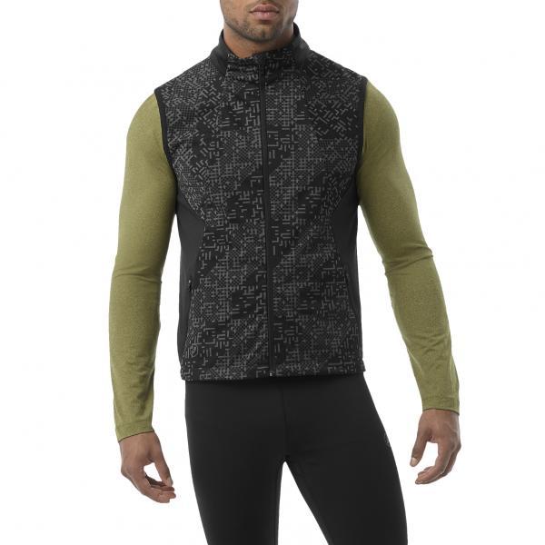 Asics Giacca Lite-show Vest NERO