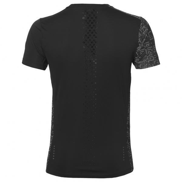 Asics T-shirt Lite-show Ss Top NERO Tifoshop