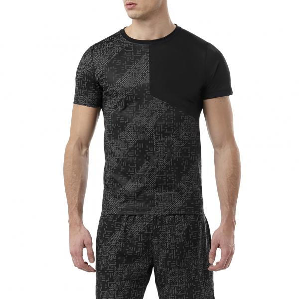 Asics T-shirt Lite-show Ss Top NERO