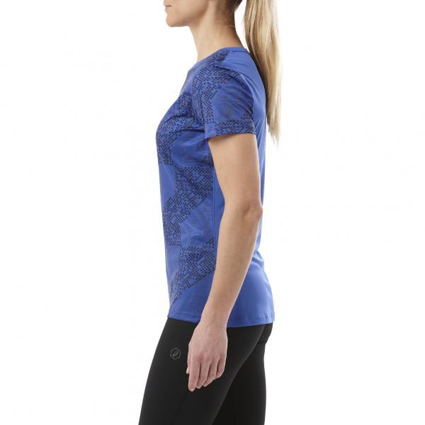 Asics T-shirt Lite-show Ss Top  Donna BLU Tifoshop