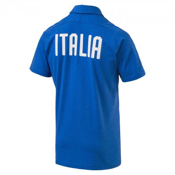 Puma Polo  Italia Azzurro Tifoshop