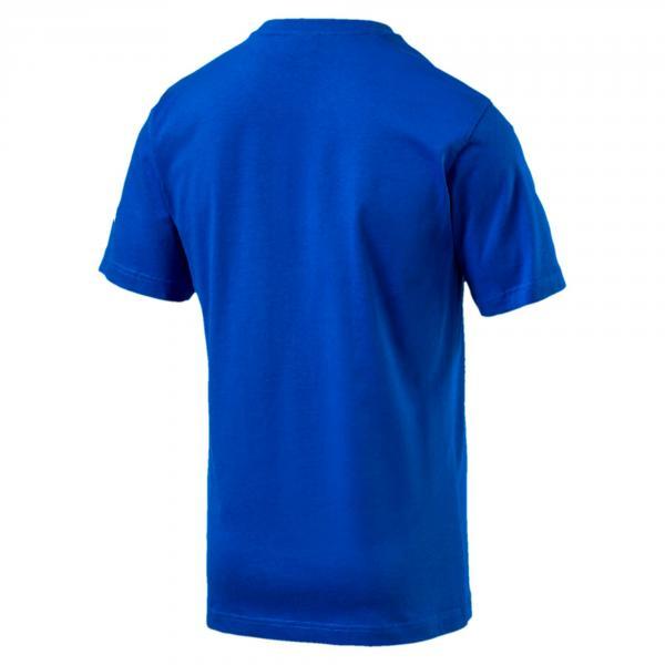 Figc Italia Badge Tee Azzurro FIGC Store