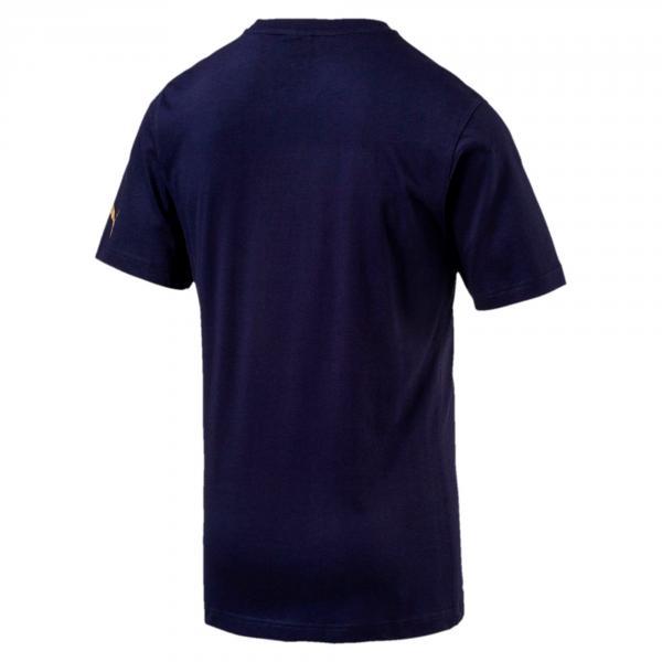 Puma T-shirt Badge Tee Italia Blu Tifoshop