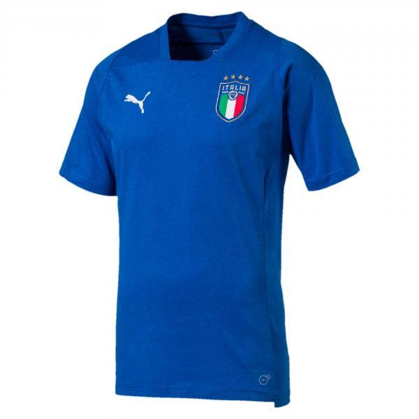 Puma T-shirt  Italia Azzurro