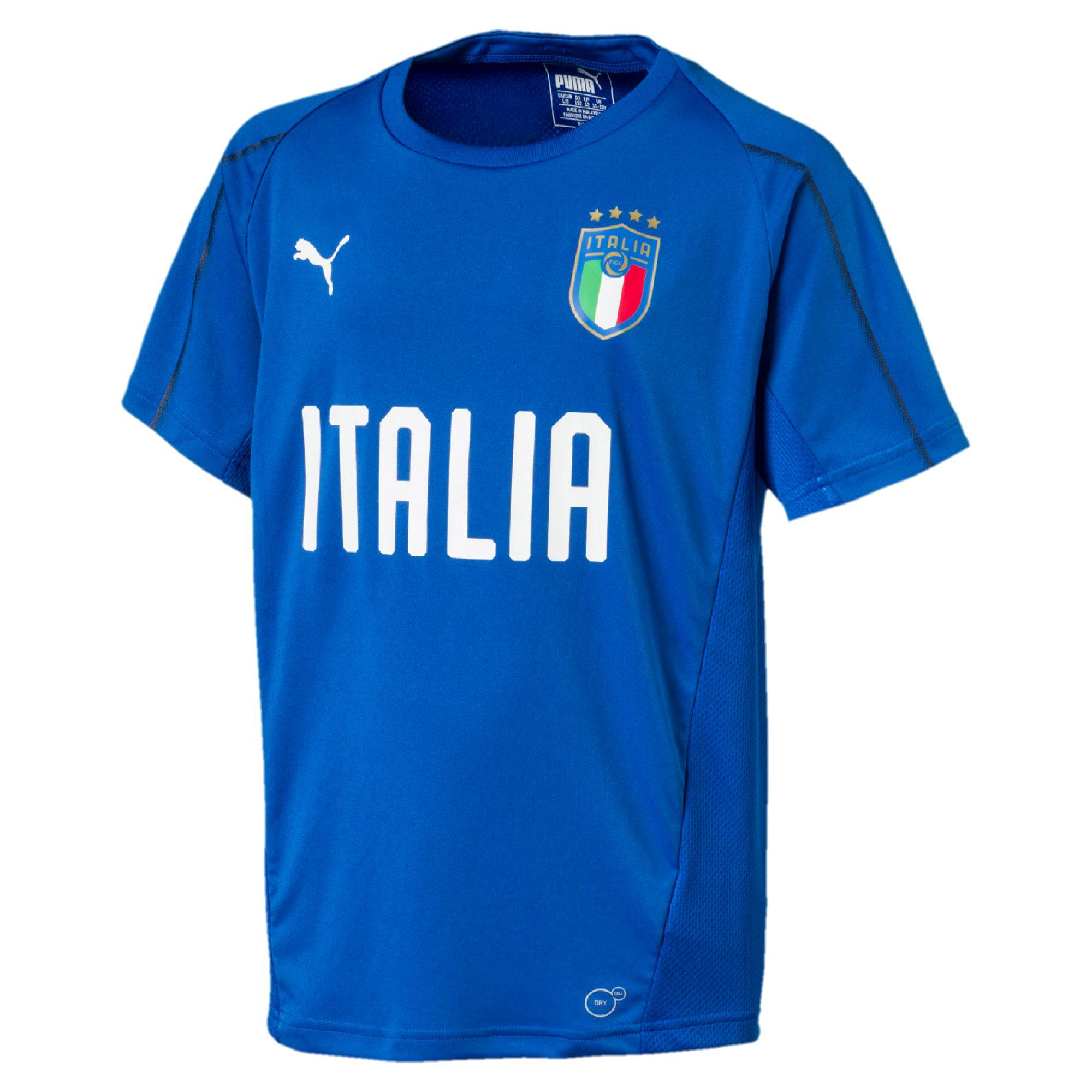 Puma Maglia Allenamento Figc Jr Training Jersey Italia Junior