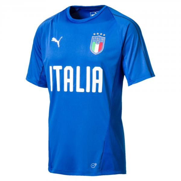 Puma Maglia Allenamento Figc Training Jersey Italia Azzurro-blu