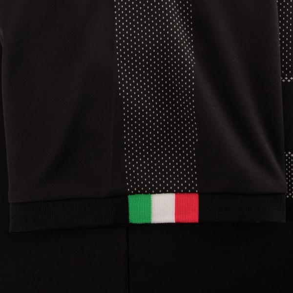 Maglia Da Portiere Maniche Corte Figc Italia Nero FIGC Store