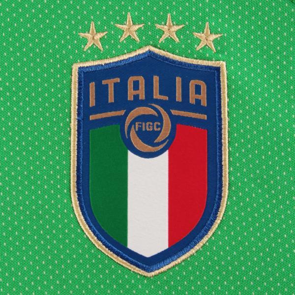 Figc Italia Goalkeeper Shirt Replica Ss GREEN FIGC Store