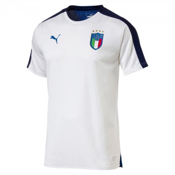 Puma Maglia Prematch Italia Bianco-blu