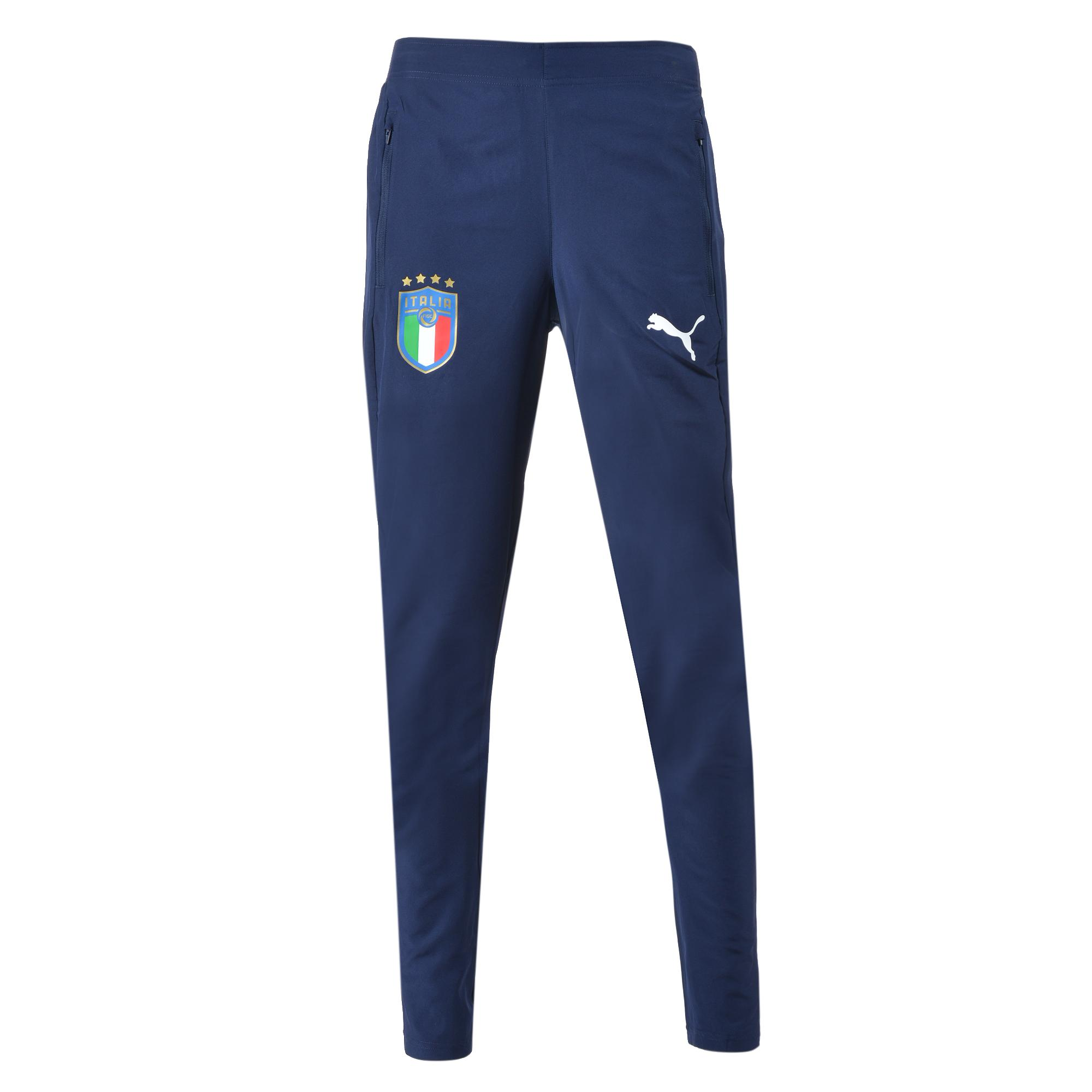 Puma Pantalone Figc Woven Pants Italia