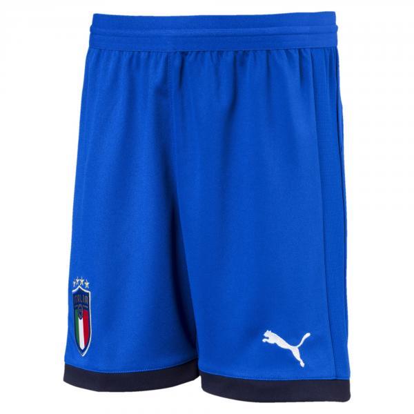 Puma Pantaloncini Gara Home Italia Junior  18/20 Azzurro
