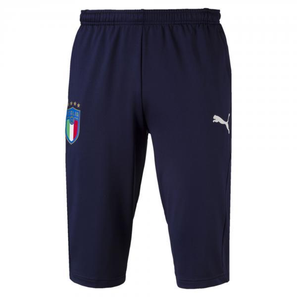 Pantaloni Da Allenamento 3/4 Figc Italia Blu-azzurro FIGC Store