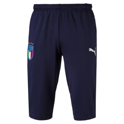 FIGC Italia 3/4 Training Pants Zipped Pockets