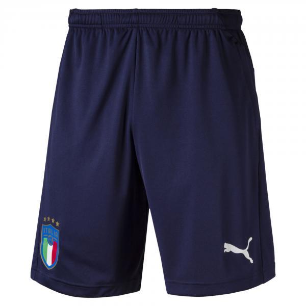 Pantaloncini Da Allenamento Figc Italia Blu-azzurro FIGC Store
